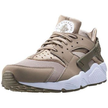 LMFIW1 Mens Nike Air Huarache Synthetic & Textile Tan Branded Footwear Shoes Trainers