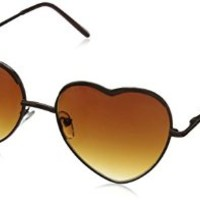 A.J. Morgan Women's Heart of Glass Sunglasses