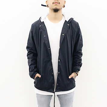 Marty Windbreaker Jacket (Navy Blue)