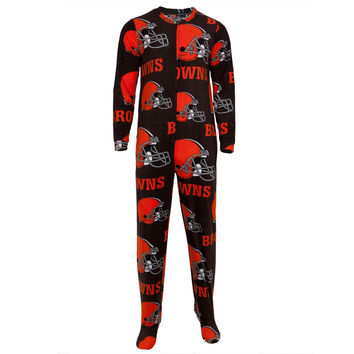 Cleveland Browns - Logo All-Over Union Suit