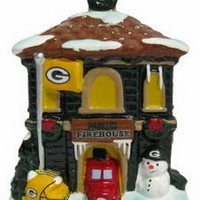 NFL Green Bay Packers Holiday Village Firehouse