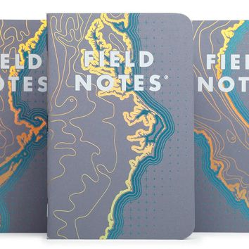 Coastal Edition Notebook 3-Pack