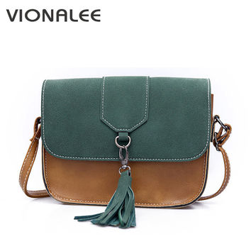Nubuck Women Messenger Bags Designer Handbags Retro Shoulder Bag Women Cross Body Bags Tassel Women Handbag Small Ladies Fashion