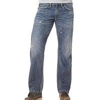 Silver Jeans Co. Zac Relaxed Straight-Fit Jeans - Indigo