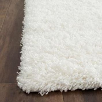 Safavieh, Shag White 3 ft. x 5 ft. Area Rug, SG151-1010-3 at The Home Depot - Mobile