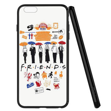 FRIENDS Collage Drawing iPhone 6   6S Case Planetscase.com