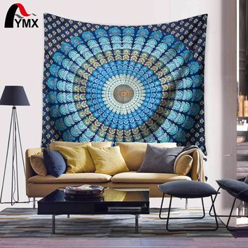 Popular tapestry hippie Mandala tapestry wall hanging Bohemian tapestries Psychedelic tapestry wall art Magical Thinking Tapize