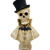 Edgar Skeleton Bust