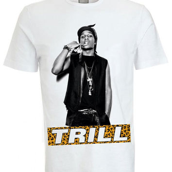 Iconic ASAP Rocky Trill Crew Neck Tee T-shirt