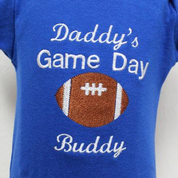 Kentucky Wildcats, Kentucky, Wildcats, football, bodysuit, baby boy clothes, baby clothes, baby shower gift, new baby gift, baby boy gift