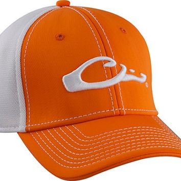 3c3872bc49d Drake Waterfowl Game Day Fitted Hat Tennessee Orange   White ...