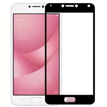 ShuiCaoRen For Asus Zenfone 4 Max Tempered Glass 9H 3D Full Screen Cover Explosion-proof Screen Protector Film For Asus ZC554KL