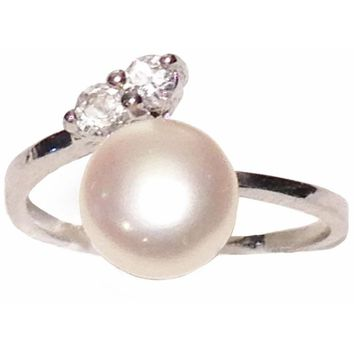 Astra Cultured Pearl Ring