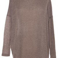 OVERSIZED DOLMAN SWEATER/ BEIGE by JULIE BILLIART