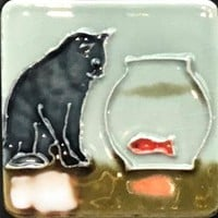 Ceramic Tile Magnets | Pets