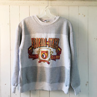 Vintage Florida State Seminoles Heather Grey Athletic Pinstripe Sweatshirt