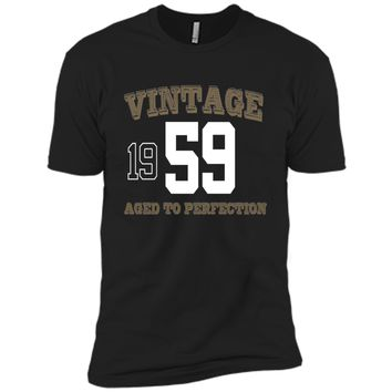 Vintage 1959 Perfect Aged Shirt. 57th Birthday Gift T-Shirt