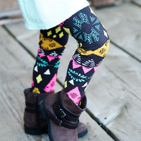 Sparks Fly Leggings (Little Girl)