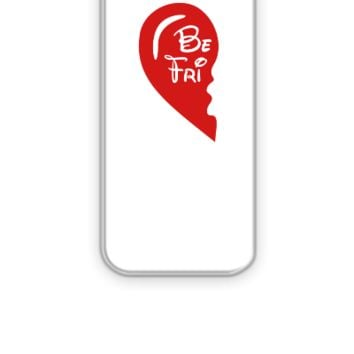 best friends left mickey - iPhone 5&5s Case