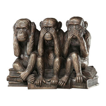 Park Avenue Collection See Speak Hear No Evil Monkeys Figurine
