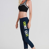 Don't Quit Nikibiki Activewear Capri Leggings