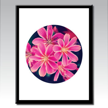 Botanical Art, Flower Wall Art, Flower Photography, Poster Prints, Flower Art, Pink Wall Art,  Wall Art, Poster Print, Digital Download Art