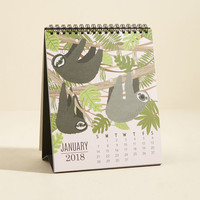 Paper Source Do It Year-Self 2018 Desk Calendar in Critters
