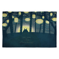 Belle13 Totoros Dream Forest Woven Rug