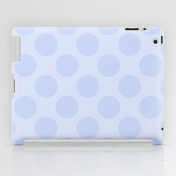 Pale Purple Polka Dot  iPad Case by KCavender Designs