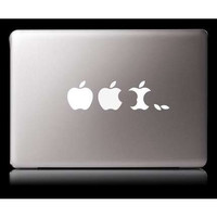 Three apples macbook decal macbook sticker Apple mac decals macbook pro decal ipad decal ipad mini decal laptop sticker