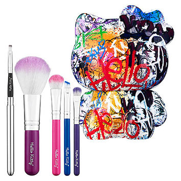 Hello Kitty Graffiti 5-Piece Brush Set (Graffiti 5-Piece Brush Set)