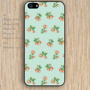 iPhone 6 case rose dream decorative pattern iphone case,ipod case,samsung galaxy case available plastic rubber case waterproof B136