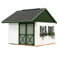 Best Barns, Clarion 10 ft. x 10 ft. Prepped for Vinyl Storage Shed Kit, clarion_1010 at The Home Depot - Mobile