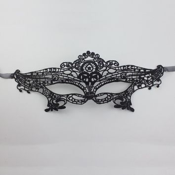 Hollow Out Lace Eye Mask For Masquerade Party Fancy Dress Costume Halloween Prom Mask