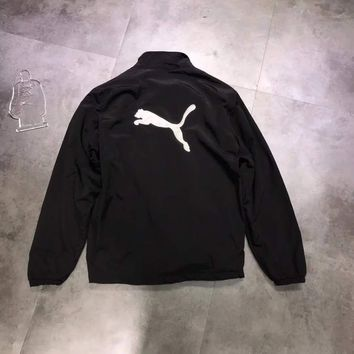 PUMA Women Black Plus velvet Jacket