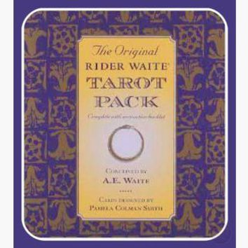 Rider-Waite Tarot Deck & Book