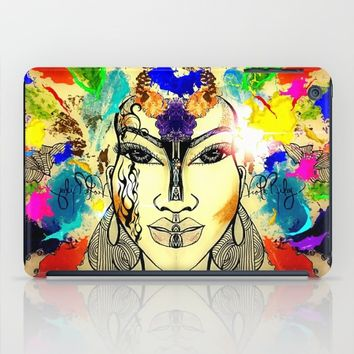 Autumn Rainbow iPad Case by violajohnsonriley
