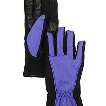 Isotoner Signature Women's Dress SmarTouch Basket Weave Bow Glove
