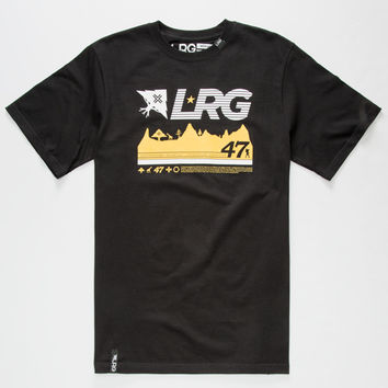 Lrg 47Th Expedition Mens T-Shirt Black  In Sizes