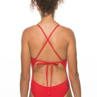 Dayno 2 Tie-Back Onesuit - Red
