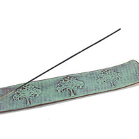 One-of-a-Kind Incense Burner - Handmade Ceramic Incense Stick Holder