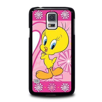 tweety bird looney tunes samsung galaxy s5 case cover  number 1