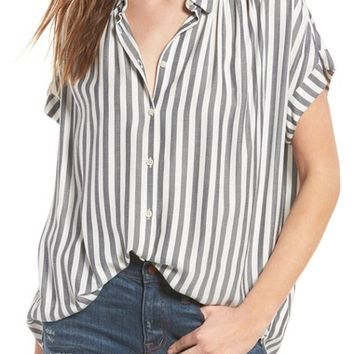 Madewell Central Shirt   Nordstrom