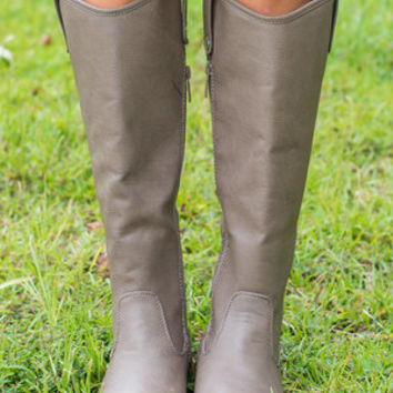 The Carolina Boot, Beige