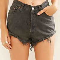 Urban Renewal Recycled Angled Roll-Hem Denim Short