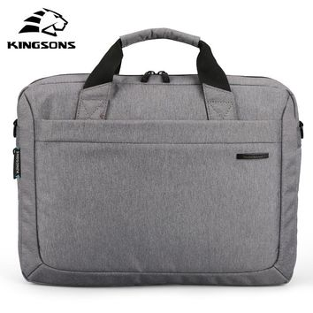 Kingsons Waterproof 12.1/13.3/14.1/15.6/17.3 inch Notebook Computer Laptop Bag for Men Women Briefcase Shoulder Messenger Bag