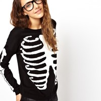 ASOS | ASOS Skeleton Jumper at ASOS