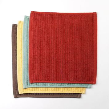 Bobby Flay Solid 4-pk. Bar Mop Dishcloths