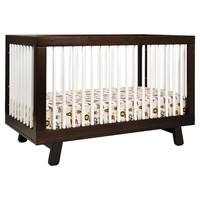 You should see this Hudson 3-in-1 Convertible Crib in Espresso & White on Daily Sales!