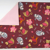 Pretty Kitty Catnip mat - Washable/Refillable with Velcro opening
